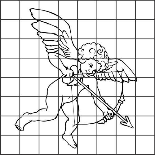 Como Ampliar Desenhos Com O Auxilio Da Tecnica Do Quadriculado